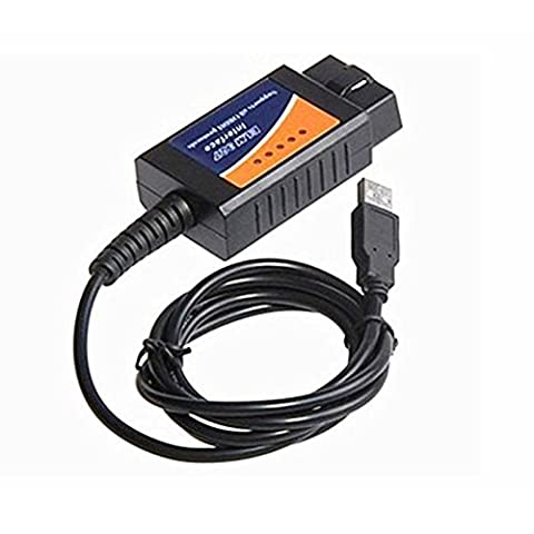 Wholesales Obd/obdii Scanner ELM 327 v2.1 Car Diagnostic Interface Scan Tool Elm327 Usb Supports All Obd-ii Protocols