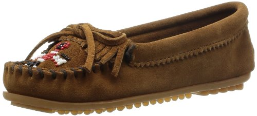 Minnetonka Thunderbird Ii, Mocassins Femme Dusty Brown Suede
