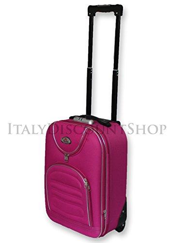 valigia-trolley-bagaglio-a-mano-espandibile-ryanair-easy-jet-2-ruote-low-cost-tela-economico-rosa