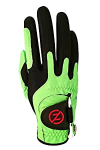 Zero Friction Men's Golf Glove, Left Hand, One Size, Lime Green