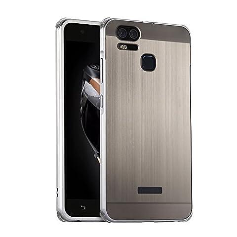 Coque ASUS Zenfone 3 Zoom ZE553KL Gris Argent,Etui en premium