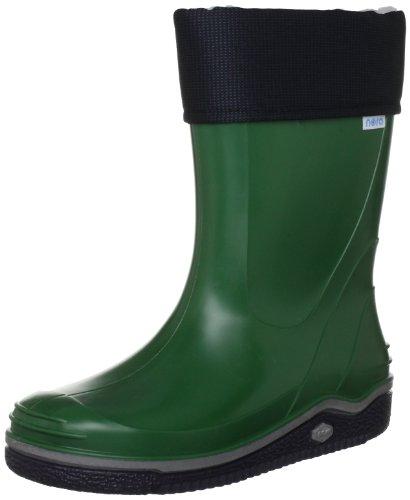 Nora Paolo, Unisex-Kinder Kurzschaft Gummistiefel, Grün (grün 55), 34 EU