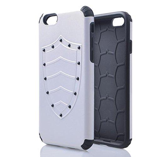 Hybrid TPU PC Bouclier Armure Protecteur Hard Cases pour iPhone 6 vert