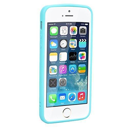 WE LOVE CASE Coque iPhone 5 / 5s / SE, Souple Gel Coque iPhone SE Bonbon Silicone Motif Fine Coque Girly Resistante, Coque de Protection Bumper Officielle Coque Apple iPhone 5 iPhone 5S iPhone SE Noir Licorne