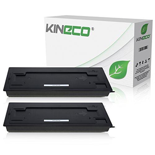 Preisvergleich Produktbild 2 Toner kompatibel zu Kyocera TK-410 TK410 für Kyocera KM1620, KM1635, KM1650, KM2020, KM2035, KM2050 F S J - 370AM010 - Schwarz je 15.000 Seiten