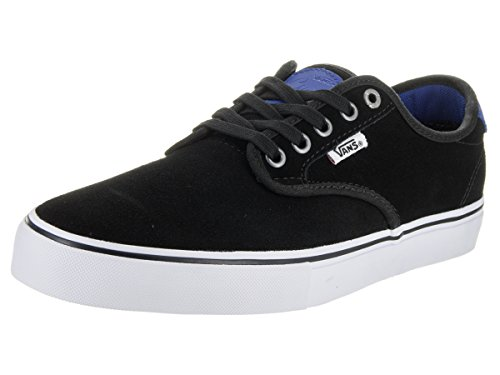 Vans CHIMA Pro (Skateboards) véritable Noir/True Blue Chaussures va347em3 F Bk/TrBl