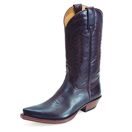 Sendra Cuervo Pesp, bottes de cowboy mixte adulte brown (MARRON)