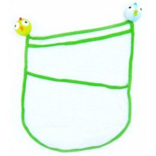 Babysun Nursery, Sacchetto per giochi da bagno, con 2 ventose a forma di (Nursery Bagno)