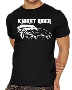 Touchlines Knight Rider Unisex/Men's T-Shirt black Size:S