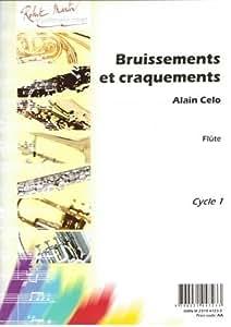 Partitions classique ROBERT MARTIN CELO A. - BRUISSEMENTS ET CRAQUEMENTS Flûte traversière