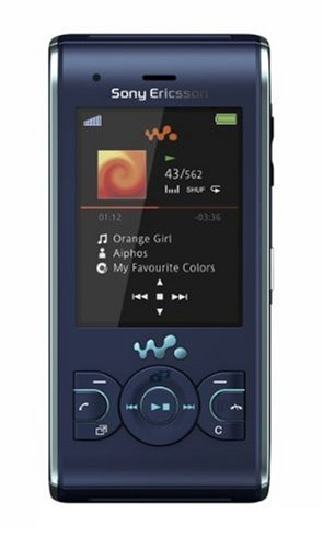 andy (Bluetooth, 3.2MP, 2GB Memory Stick, Walkman, UKW-Radio) Active Blue ()