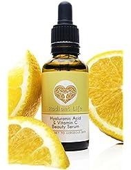 Crème de soin anti-âge Radiant Life à l'acide hyaluronique et à la vitamine C, le meilleur soin réparateur, naturel et gainant pour le visage