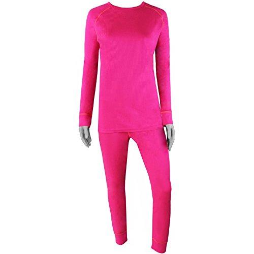 COX SWAIN Damen Funktionsunterwäsche Set MARA mit Quick-Dry Funktion Pink