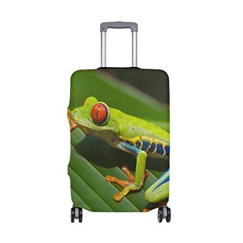 Agalychnis Callidryas Reisegepäck-Abdeckung, dehnbar, Koffer-Schutz, passend für 45,7-50,8 cm Gepäck Mehrfarbig Mehrfarbig 18-20 inches - Dehnbare Abdeckung Koffer