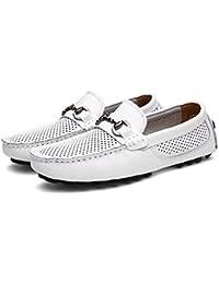 1d14e1399c078 Amazon.co.uk: White - Loafer Flats / Men's Shoes: Shoes & Bags