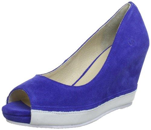 Blink BX 432-073A227 84073-A227, Scarpe con la zeppa donna, Multicolore (Mehrfarbig (blue/white 227)), 39
