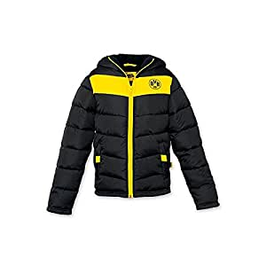 BVB 09 Borussia Dortmund Kinder Winterjacke schwarzgelb Gr. 128 Kinderjacke Jacke 15216901