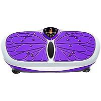 Preisvergleich für H&Y Vibrationsplatte - Vibrations-Plattform Body Ultra Slim Vibrations-Trainer Massage Fitness-Maschine, 99 Geschwindigkeitsstufen mit LCD-Display-Fernbedienung, 150 kg Tragkraft