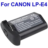 LP-E4 Battery for CANON EOS-1Ds Mark III EOS-1D Mark