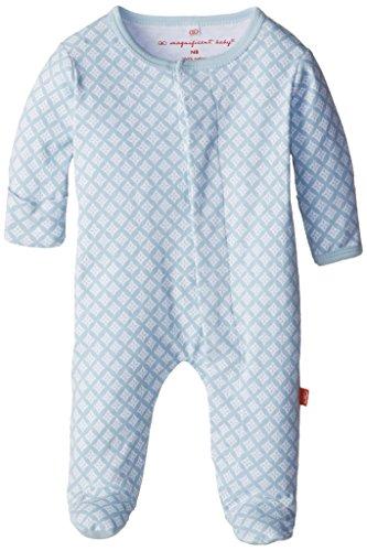 Magnífico Baby Baby-Boys Footie - Azul -