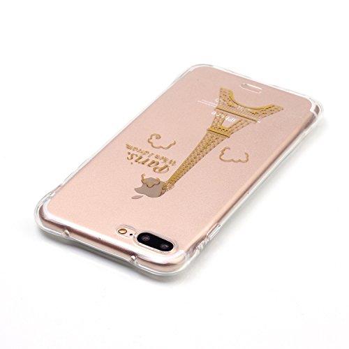 Für iPhone 7,Sunrive Schutzhülle Etui Hülle TPU Silikon Rückschale Silicon Cover Tasche Case Bumper Abdeckung Handyhülle(rosa)+Gratis Universal Eingabestift Sendemast