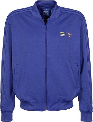 5d75759d5d6fd adidas Originals x Pharrell Williams Men s Supercolour Track Jacket ...