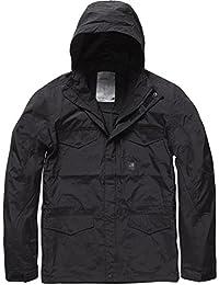 Vintage Industries - Michican Jacket Übergangsjacke Schwarz Herren 40f87217f5