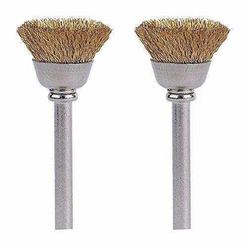"""Preisvergleich Produktbild Dremel 536-02 Brass Brushes (2 Pack), 1/2"""""""