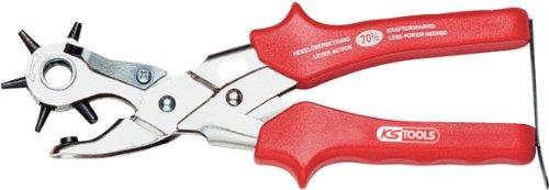 KS Tools 118.0043 Revolving punch plier, normal, 250mm