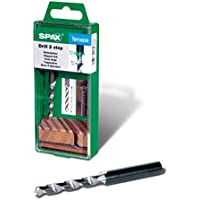 SPAX Stufenbohrer mit 2 Bohrstufen von 4,1 und 6,5 mm, drill 2 step, Terrassenbau, 5009409873005