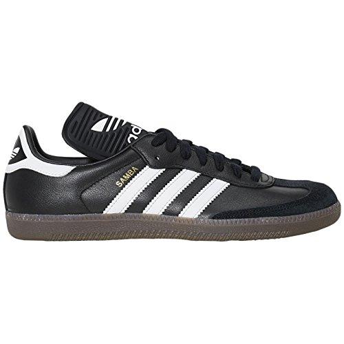 adidas Herren Samba Classic OG Sneaker, Schwarz (Core Black/Footwear White/Gum), 46 EU (Samba Stripe)