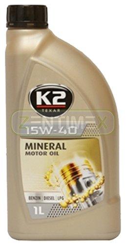 Motoröl Öl Mineral-Öl mineralisch 15W-40 Nanotechnologie Benzin-Motoren Benziner LPG-Motoren Diesel-Motoren 1l ACEA A3/B3/B4, API SL/CF