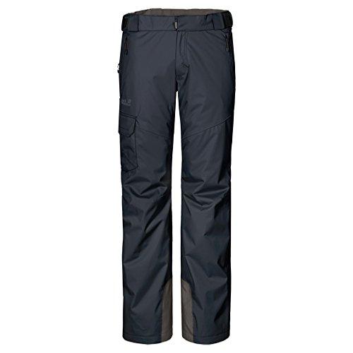 Jack Wolfskin M Snow Mountain Texapore Pants - Night Blue - 52 - Atmungsaktive wasserdichte Herren Skihose