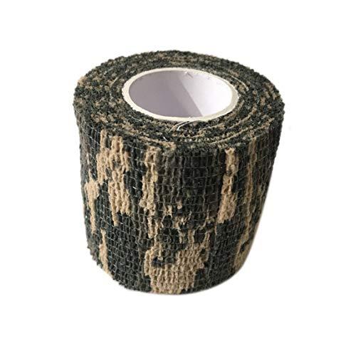 ZinESaya Vendaje elástico Auto-Adhesivo Disponible para Las Fuentes de la manija de la máquina del Tatuaje