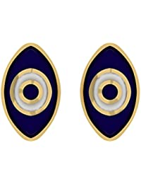 TBZ - The Original 18k Yellow Gold Stud Earrings