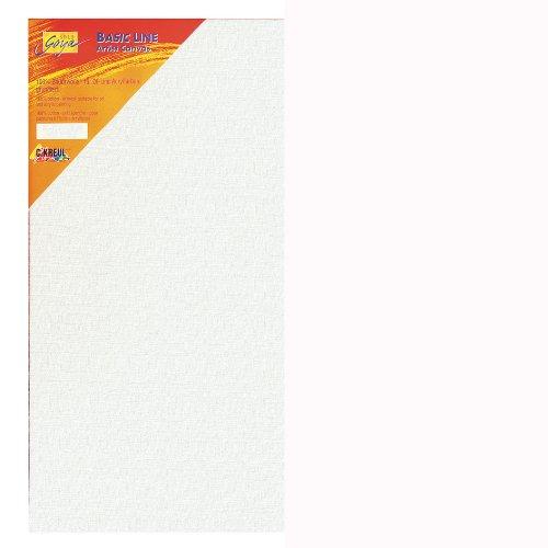 Kreul 680120 - Solo Goya Keilrahmen Stretched Canvas Basic Line, ca. 80 x 120 cm, 4 fach grundiert, für Öl-, Acryl- und Gouachefarben