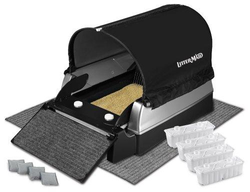 LitterMaid Ultimate Zubehör-Set für Elite Mega Automatische selbstreinigende Katzentoilette (lmekt9000mb)
