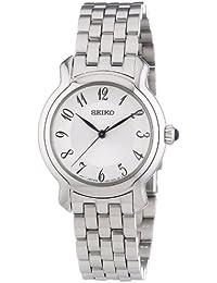 Seiko Damen-Armbanduhr XS Damenuhren Analog Quarz Edelstahl SRZ391P1