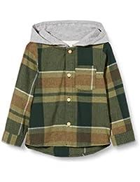 NAME IT Nmmlion LS Shirt W. Hood Chaqueta para Niños