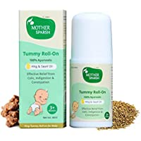 Mother Sparsh Hing Tummy Roll On for Colic Relief and Digestion, 100% Ayurvedic 40ml