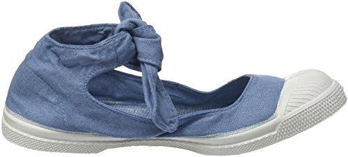 Bensimon Damen Tennis Flo Sneaker Blau (Denim)