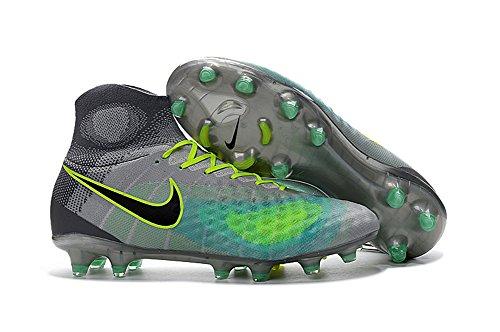 Lowm Chaussures de football pour homme Magista Obra II FG , Homme, gris, EUR41=UK7