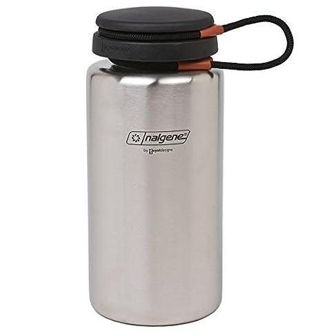 Nalgene Breiter Mund Edelstahl 1L Wasserflasche - Gsi Flask