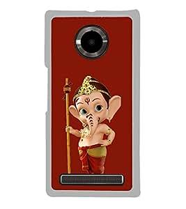 ifasho Designer Phone Back Case Cover YU Yuphoria :: YU Yuphoria YU5010 ( Red Black Diamond Colorful Pattern Design )
