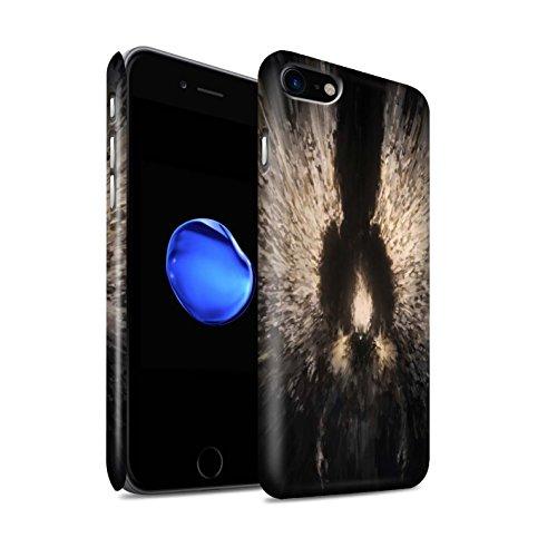 Offiziell Chris Cold Hülle / Matte Snap-On Case für Apple iPhone 7 / Der Anrufer Muster / Dunkle Kunst Dämon Kollektion Zeriel das Licht