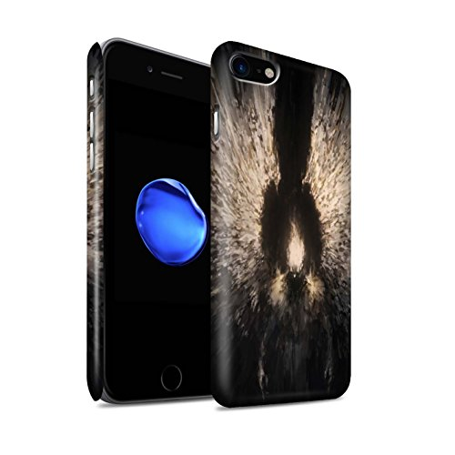 Offiziell Chris Cold Hülle / Matte Snap-On Case für Apple iPhone 8 / Drachen/Finsternis Muster / Dunkle Kunst Dämon Kollektion Zeriel das Licht