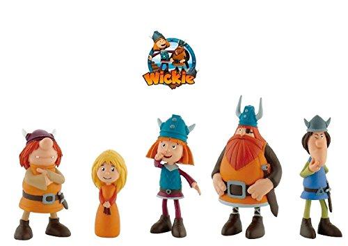 bullyland-set-5-figuren-wickie-und-die-starken-mnner