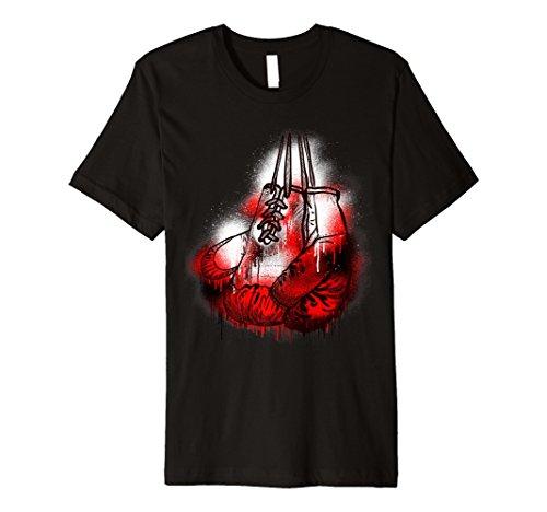 Blutende Boxhandschuhe Box Kampf Geburtstag T Shirt