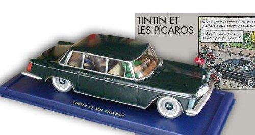 Hergé - Atlas - En voiture Tintin - 11 - Tintin et les Picaros, la limousine gouvernementale (Limousine Zubehör)