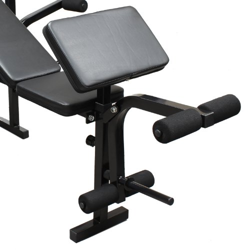 41Wb piITdL. SS500  - DTX Fitness All-in-One Dumbbell/Barbell Weight Bench with Butterfly & Preacher Curl